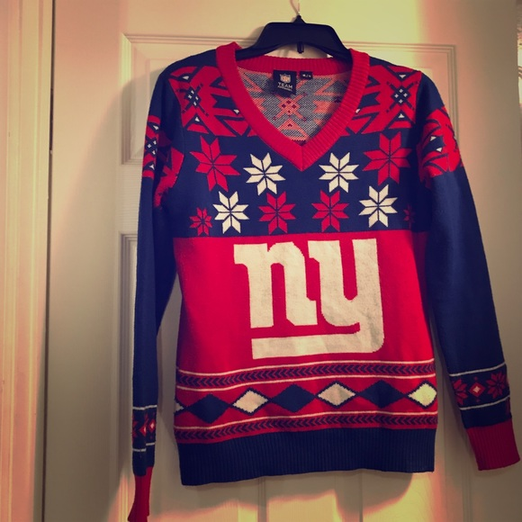 new products 4eaec 3ff2b New York Giants Sweater